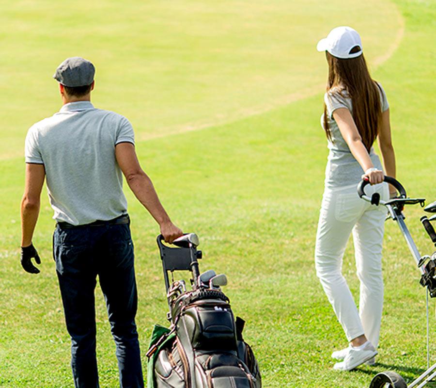 cours de golf collectif avec joel Oneglia à l'azur golf academy