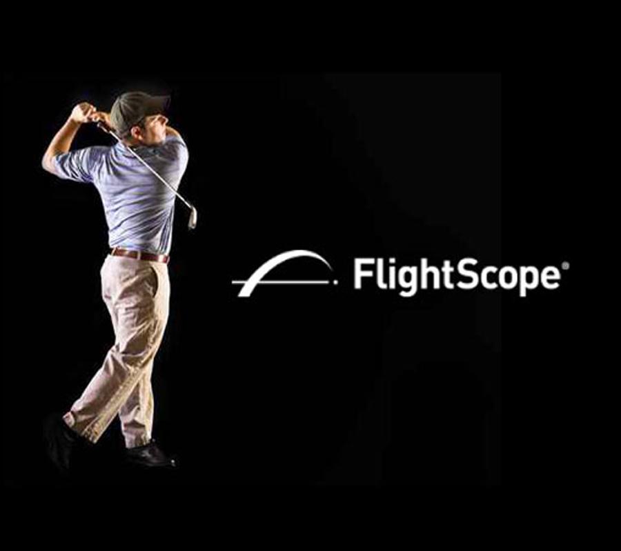 leçon avec les radar flightscope avec le professeur de golf Joel Oneglia sur la cote d'azur